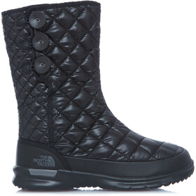 The North Face W's Thermoball Button-Up Boots Shiny TNF Black/Smokedpearl Grey